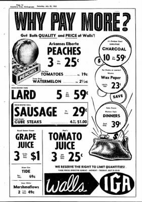 Garden City Telegram from Garden City, Kansas on July 20, 1963 · Page 16