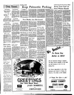 Estherville Daily News from Estherville, Iowa on December 29, 1971 · Page 8