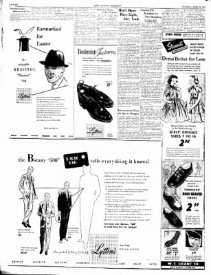 Alton Evening Telegraph from Alton, Illinois on April 15, 1954 · Page 6