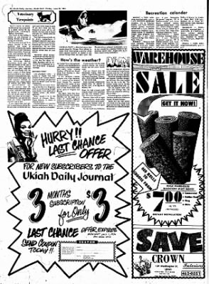 Ukiah Daily Journal from Ukiah, California on June 28, 1974 · Page 10