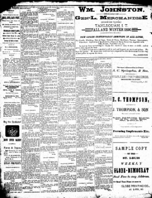 Cherokee Advocate From Tahlequah Oklahoma On December 24 1890 Page 4