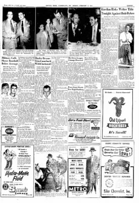 Cumberland Evening Times from Cumberland, Maryland on February 4, 1952 · Page 11