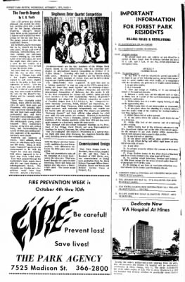 Forest Park Review from Forest Park, Illinois on October 7, 1970 · Page 4