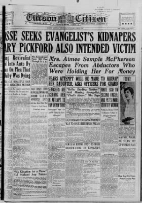 Tucson Citizen from Tucson, Arizona on June 23, 1926 · 1