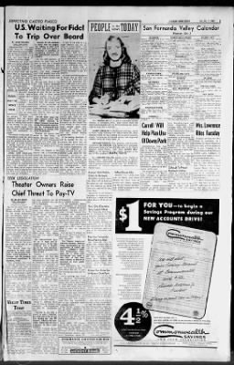 Valley Times from North Hollywood, California on October 1, 1960 · 3