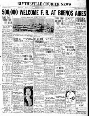 The Courier News from Blytheville, Arkansas on November 30, 1936 · Page 1