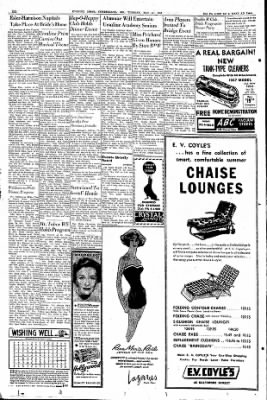 Cumberland Evening Times from Cumberland, Maryland on May 21, 1957 · Page 6