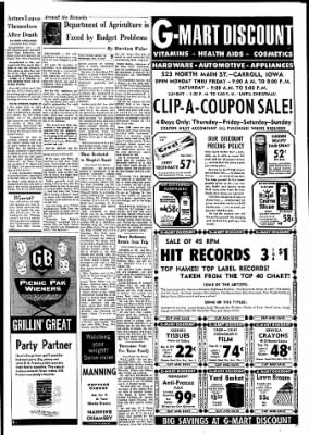 Carrol Daily Times Herald from Carroll, Iowa on November 1, 1967 · Page 9