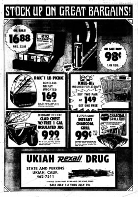 Ukiah Daily Journal from Ukiah, California on July 1, 1974 · Page 23
