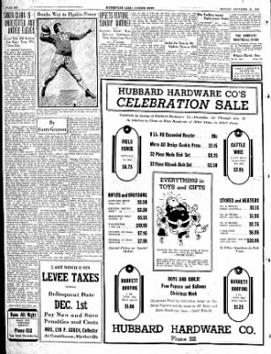 The Courier News from Blytheville, Arkansas on November 30, 1936 · Page 6