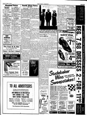 Alton Evening Telegraph from Alton, Illinois on April 16, 1954 · Page 9