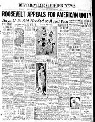 The Courier News from Blytheville, Arkansas on December 1, 1936 · Page 1