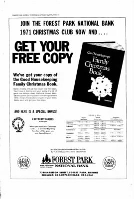 Forest Park Review from Forest Park, Illinois on October 28, 1970 · Page 24