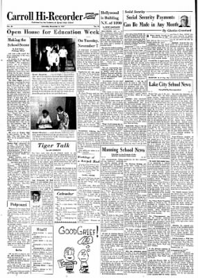 Carrol Daily Times Herald from Carroll, Iowa on November 4, 1967 · Page 8