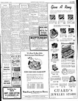 The Courier News from Blytheville, Arkansas on December 19, 1939 · Page 3