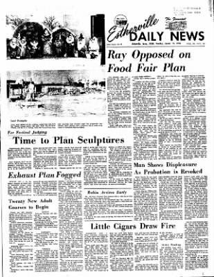 Estherville Daily News from Estherville, Iowa on January 11, 1972 · Page 1