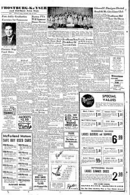 Cumberland Evening Times from Cumberland, Maryland on May 23, 1957 · Page 10