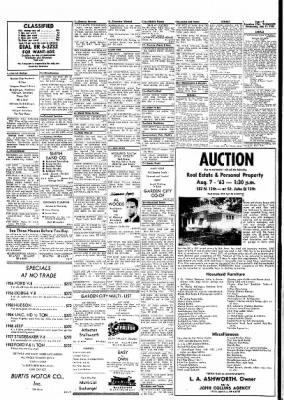Garden City Telegram from Garden City, Kansas on July 31, 1963 · Page 10