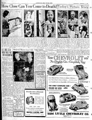 The Courier News from Blytheville, Arkansas on December 2, 1936 · Page 6