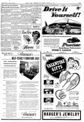 Cumberland Evening Times from Cumberland, Maryland on February 12, 1952 · Page 9