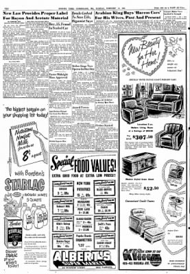 Cumberland Evening Times from Cumberland, Maryland on February 12, 1952 · Page 10