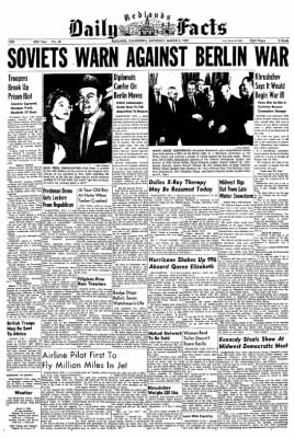 Redlands Daily Facts from Redlands, California on March 7, 1959 · Page 1