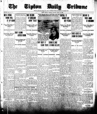 The Tipton Daily Tribune from Tipton, Indiana on March 27, 1930 · Page 1