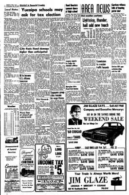 Redlands Daily Facts from Redlands, California on February 19, 1969 · Page 4