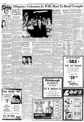 Cumberland Evening Times from Cumberland, Maryland on February 12, 1952 · Page 16