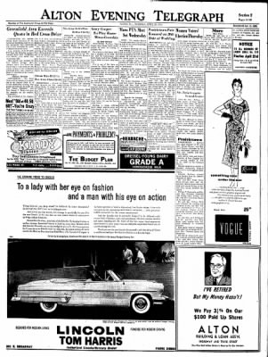 Alton Evening Telegraph from Alton, Illinois on April 20, 1954 · Page 11
