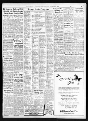 The Brooklyn Daily Eagle from Brooklyn, New York on November 22, 1930 · Page 3