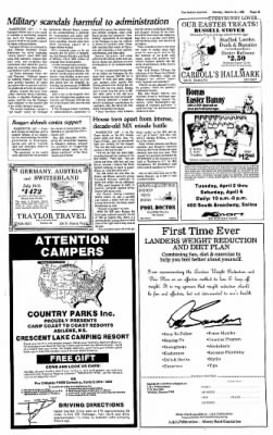 The Salina Journal from Salina, Kansas on March 31, 1985 · Page 34