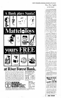Forest Park Review from Forest Park, Illinois on December 2, 1970 · Page 13