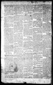 Sample The Daily Confederate front page