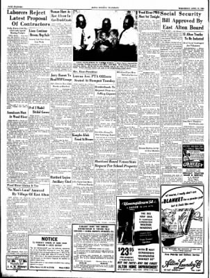 Alton Evening Telegraph from Alton, Illinois on April 21, 1954 · Page 17