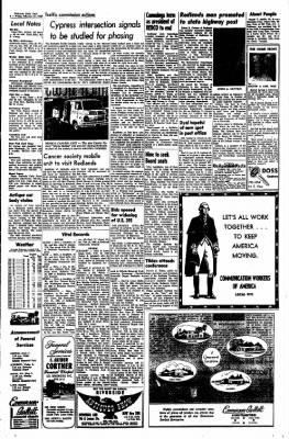 Redlands Daily Facts from Redlands, California on February 21, 1969 · Page 4