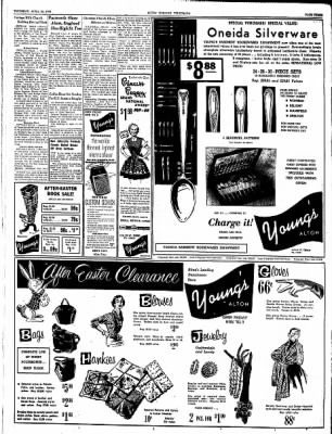 Alton Evening Telegraph from Alton, Illinois on April 22, 1954 · Page 3