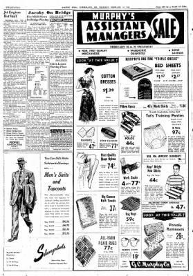 Cumberland Evening Times from Cumberland, Maryland on February 14, 1952 · Page 22
