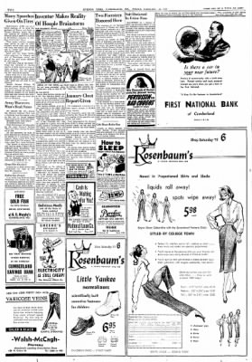 Cumberland Evening Times from Cumberland, Maryland on February 15, 1952 · Page 2