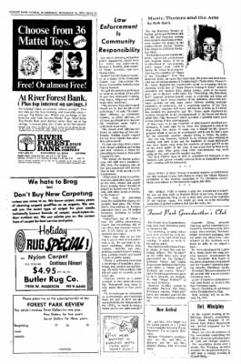 Forest Park Review from Forest Park, Illinois on December 16, 1970 · Page 12