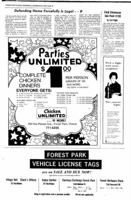 Forest Park Review from Forest Park, Illinois on December 16, 1970 · Page 18