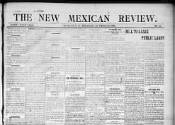 The New Mexican Review