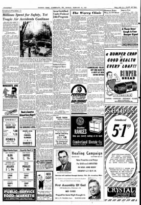Cumberland Evening Times from Cumberland, Maryland on February 18, 1952 · Page 14