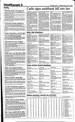 The Salina Journal from Salina, Kansas on April 3, 1985 · Page 10
