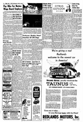 Redlands Daily Facts from Redlands, California on March 13, 1959 · Page 4