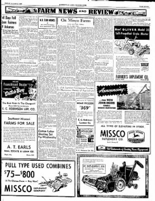 The Courier News from Blytheville, Arkansas on August 8, 1952 · Page 7