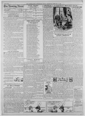 The Evening News from Harrisburg, Pennsylvania on February 24, 1943 · Page 10