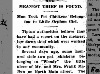 "Clip of the Day: ""Meanest Thief"" Stole Chickens from Orphan Girl"