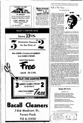 Forest Park Review from Forest Park, Illinois on January 6, 1971 · Page 7