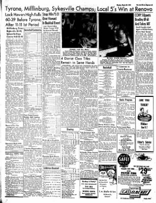 The Express From Lock Haven Pennsylvania On March 20 1950 Page 6 According to the introduction of ogden newspapers, inc., lock haven is a news & magazines app on the android platform. newspapers com